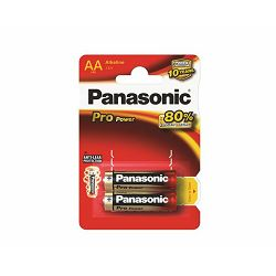 PANASONIC baterije LR6PPG, 2BP Alkaline Pro Power