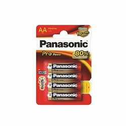 PANASONIC baterije LR6PPG,4BP Alkaline Pro Power