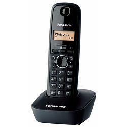 PANASONIC telefon bežični KX-TG1611FXH crni