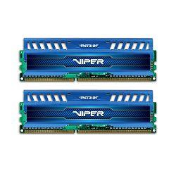 Memorija Patriot Viper3 Blue Sapphire 1600Mhz,8GB (2x4GB)