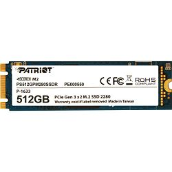 Patriot SSD Scorch R1700/W950, 512GB, M.2 NVMe
