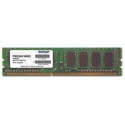 Memorija Patriot Sig. DIMM, DDR3 1600Mhz, 4GB