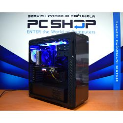 PC MagazinRS Gaming Intel Coffee računalo (Intel i5 9400F 2.9 / 4.1Ghz (Turbo), RTX 2080, 16GB DDR4 RAM, HDD 2TB + SSD 240GB NVMe, DVD-RW)