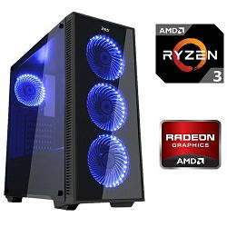 PC Računalo MagazinRS Ryzen (AMD 3 1300X 3.5GHz, RX 560 2GB, 8GB DDR4 RAM, HDD 1TB)