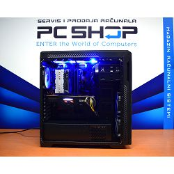 PC Računalo MagazinRS Coffee Lake (Intel i7 9700K 4.9GHz, RTX 2080 Super, 16GB DDR4 RAM, HDD 2TB + SSD NVMe 240GB, DVD-RW)