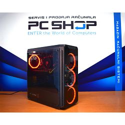 PC Računalo MagazinRS Coffee Lake (Intel i3 8100 3.60 GHz, GTX 1050Ti 4GB, 8GB DDR4 RAM, HDD 1TB)
