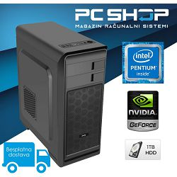 PC Računalo MagazinRS Gamer (Intel G5400 3.7GHz, GT 1030 2GB, 8GB DDR4 RAM, HDD 1TB, DVD-RW)