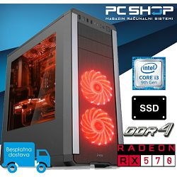 PC Računalo MagazinRS Gamer - Intel i3 9100F 4.20GHz (Boost), AMD RX 570, 8GB RAM, SSD 240GB