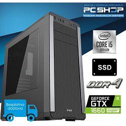 PC Računalo MagazinRS Gamer (Intel i5 10400F 4.3Ghz (Turbo), GTX 1660 Super, 16GB DDR4 RAM, SSD 480GB)