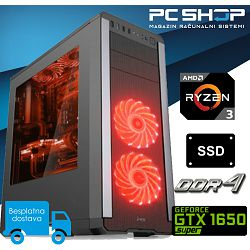 PC Računalo MagazinRS Gamer (Ryzen 3 1200 3.40GHz (Boost), Nvidia GTX 1650 Super, 8GB RAM, SSD 240GB)