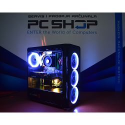 PC Računalo MagazinRS Gamer (Ryzen 5 2600 3.4GHz, Radeon RX 590, 8GB DDR4 RAM, SSD 240GB NVMe)