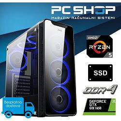 PC Računalo MagazinRS Gamer (Ryzen 5 2600 3.4GHz, GTX 1650, 8GB DDR4 RAM, SSD 240GB)