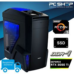 PC Računalo MagazinRS Gamer (Ryzen 5 5600x 4.6GHz (Boost), RTX 3060 Ti, 16GB DDR4 RAM, SSD NVMe 500GB)