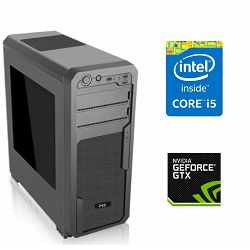 PC Računalo MagazinRS Kaby Lake (Intel i5 7400 3.0GHz, GTX 1060 3GB, 8GB DDR4 RAM, HDD 1TB + SSD 120GB, DVD-RW)