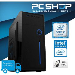 PC Računalo MagazinRS Optimum (Intel i5 8400 2.8 / 4.0Ghz (Turbo), 8GB RAM DDR4, HDD 1TB, DVD-RW)