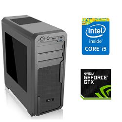 PC Računalo MagazinRS Kaby Lake (Intel i5 7600K 3.8 GHz, GTX 1070 8GB, 16GB DDR4 RAM, HDD 1TB + SSD 240GB, DVD-RW)