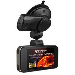 Car Video Recorder PRESTIGIO RoadRunner 545GPS (FHD 1920x1080@30 fps, 2.7 inch screen, NTK96650, 12 MP, 170° viewing angle, HD-port, mini USB, 4x zoom, 130 mAh, GPS, Night Vision, EIS, IR, HDR, Gun Me