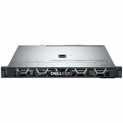 DELL EMC PowerEdge R340 4x3.5in, Intel Xeon E-2124(3.3GHz, 8M, 4C/4T, turbo(71W)), 8GB 2666MT/s DDR4 ECC UDIMM, 1TB 7.2K RPM SATA 6Gbps 512n 3.5in Hot-plug, IDRAC 9 Basic, PERC H330, 2x HotPlug PS 350