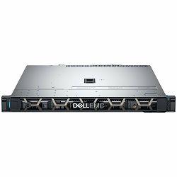 DELL EMC PowerEdge R340 w/4x 3.5, Intel Xeon E-2124 3.3GHz, 8M cache, 4C/4T, turbo (71W), 2x 16GB 2666MT/s DDR4 ECC UDIMM, 3x 4TB 7.2K RPM SATA 6Gbps 512n 3.5in Hot-plug, iDrac9 Basic, PERC H330 RAID,