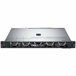 Server DELL EMC PowerEdge R340 4x3.5in, Intel Xeon E-2234 3.6GHz, 8M, 4C/8T, turbo (71W), 16GB 2666MT/s DDR4 ECC UDIMM, 600GB SAS 12Gbps 10k 512n 2.5in w/ 3.5in HYB CARR Hot-Plug, PERC H330 RAID