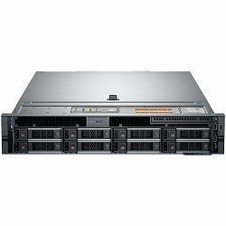 DELL EMC PowerEdge R740 w/8x 3.5in, Intel Xeon Silver 4210R(2.4G, 10C/20T, 9.6GT/s, 13.75M, Turbo, HT (100W)), 16GB RDIMM 2933MT/s, 480GB SSD SATA 6Gbps 512 2.5in Hot-plug, PERC H740P RAID,  iDRAC9 Ex
