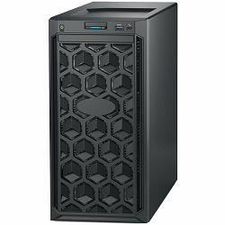 DELL EMC PowerEdge T140 w/4x3.5in, Intel Xeon E-2224 (3.4GHz, 8M cache, 4C/4T, turbo (71W)), 16GB 3200MT/s DDR4, 1TB 7.2K RPM SATA 6Gbps 512n 3.5in Cable HDD, iDRAC9, DVD/RW, TPM 2.0, On-Board LOM, 5Y