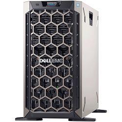 Dell EMC PowerEdge T340 8x 3.5in, Intel Xeon E-2134 3.5GHz, 8M cache, 4C/8T, turbo (71W),  2x 16GB 2666MT/s DDR4 ECC UDIMM, 600GB 15K RPM SAS 12Gbps 512n 2.5in Hot-plug, iDRAC9 Enterprise, PERC H730P