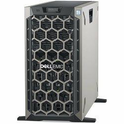 DELL EMC PowerEdge T440 w/8x 3.5in, Intel Xeon Silver 4208(2.1G, 8C/16T, 9.6GT/s, 11M Cache, Turbo, HT (85W)), 16GB RDIMM 2666MT/s, 480GB SSD SATA, PERC H730P RAID, iDRAC9 Enterprise, 2x RPS 750W, TPM