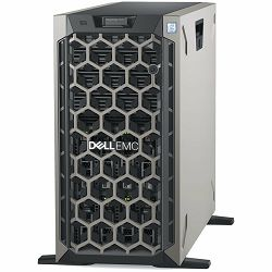 DELL EMC PowerEdge T440 w/8x3.5in, Intel Xeon Silver 4210R(2.4G, 10C/20T, 9.6GT/s, 13.75M Cache, Turbo, HT (100W)), 16GB RDIMM 3200MT/s, 480GB SSD SATA 2.5in Hot-plug, iDrac9 Exp., PERC H730P RAID, DV