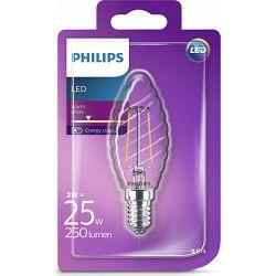 Philips LED žarulja, E14, ST35, topla, 25W, prozir
