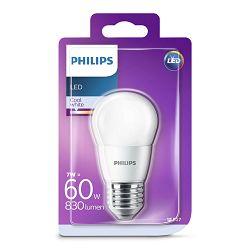 Philips LED žarulja, E27, P48, hladna, 7W, matir