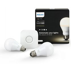 Philips HUE starter kit 2, E27, bijela