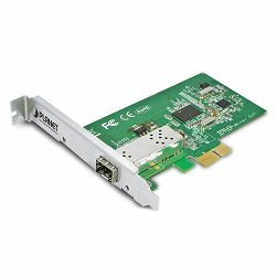 Planet PCI Express Gigabit Fiber Optic Ethernet Adapter (SFP)