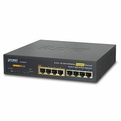 Planet GSD-804P 8-Port 10 100 1000Mbps with 4-Port PoE Gigabit Ethernet Switch