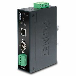 Planet ICS-2100 Industrial RS-232 RS-422 RS-485 over 10 100Base-TX Media Converter (Copper, RJ-45)