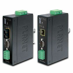 Planet ICS-2105A, Industrial RS-232 over 100Base-FX Media Converter (Fiber, Vary on SFP module)