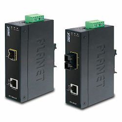 Planet Ethernet to FX Industrial Media Converter