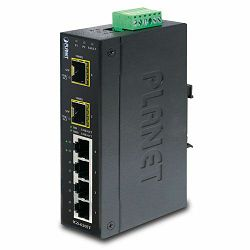 Planet IGS-620TF Industrial 4-Port Gigabit 2-Port Gig SFP Ethernet Switch
