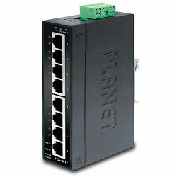Planet 8P Gigabit Industrial Switch w wide operating Temp