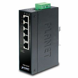 Planet ISW-501T 5P 10 100Mbps Industrial Fast Ethernet Switch