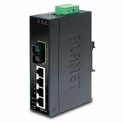 Planet ISW-511S15, Industrial 4P Switch 1 FX(SC) Single Mode