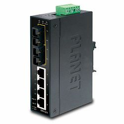 Planet ISW-621, Industrial 4P 10 100 TX 2P FX(SC) Ethernet Switch