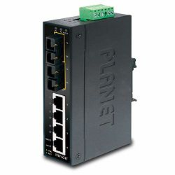 Planet ISW-621TS15 Industrial 4P 10 100 TX 2P FX(15km) Ethernet Switch wide operating temp