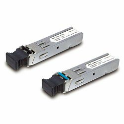 Planet MFB-TFX Single Mode 20KM, 100Mbps SFP fiber transceiver (-40 to 75C)