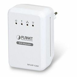 Planet WNAP-1260 Wall Plug 300Mbps Universal WiFi Repeater