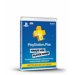 GAM SONY PlayStation Plus Card 365 Days