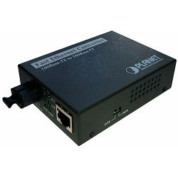Planet 100TX to 100FX WDM Single Mode Converter 20km