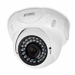Planet H.265 4MP PoE Dome IR IP Camera with Vari-focal Lens