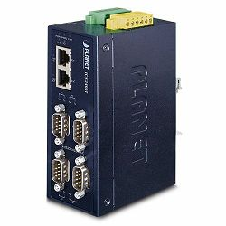 Planet Industrial 4-Port RS232 RS422 RS485 Serial Device Server