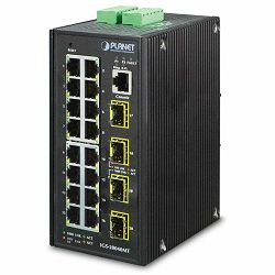 Planet 20-port Full Gigabit Managed Ethernet Switch